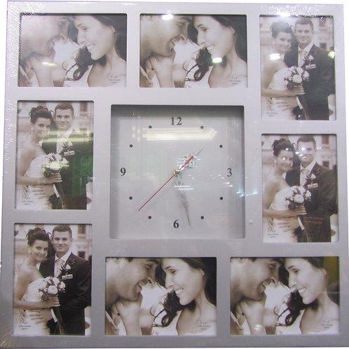 שעון עץ קטן - ל 8 תמונות