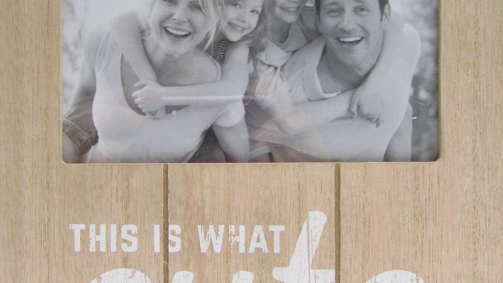 מסגרת עץ משפטים - דגם8 - www.photowood.co.il