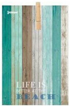 שלט אטב-LIFE IS BETTER AT THE BEACH