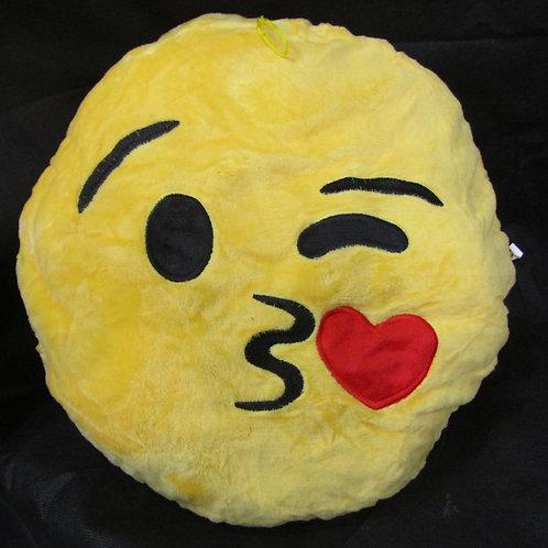 כרית אימוג'י - מנשק אהבה