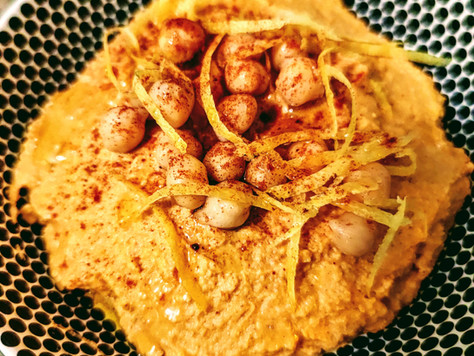 Smokey Spiced Sweet Potato Hummus