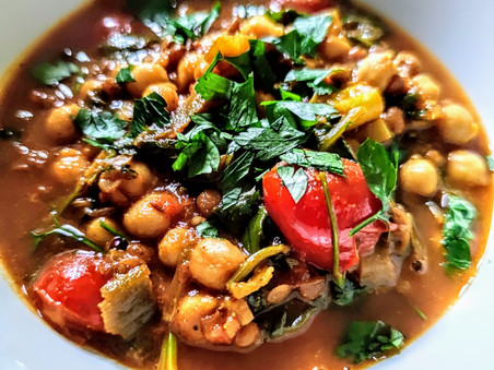 Chick Pea, Lentil & Spinach Dhal