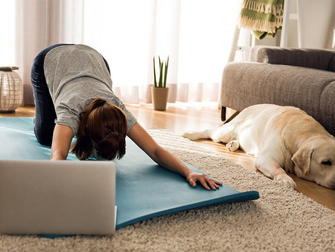 5 tips to combat Zoom Fatigue (and enjoy your online yoga again)
