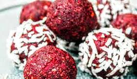 Red Velvet Bliss Balls