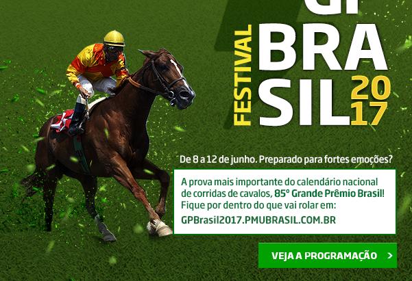 Você está preparado para fortes emoções? De 9 a 12 de junho: 85º Grande Prêmio Brasil