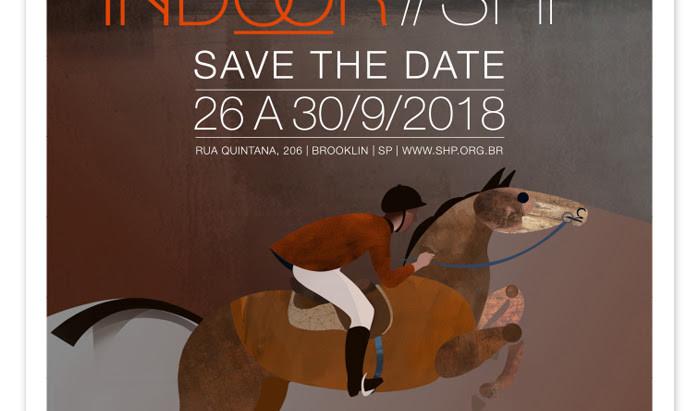 Save the Date: Indoor 2018, de 26 a 30 de setembro
