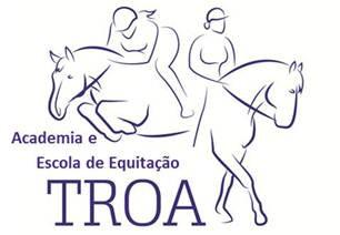 logotipo Academia e Escola de Equitação Troá