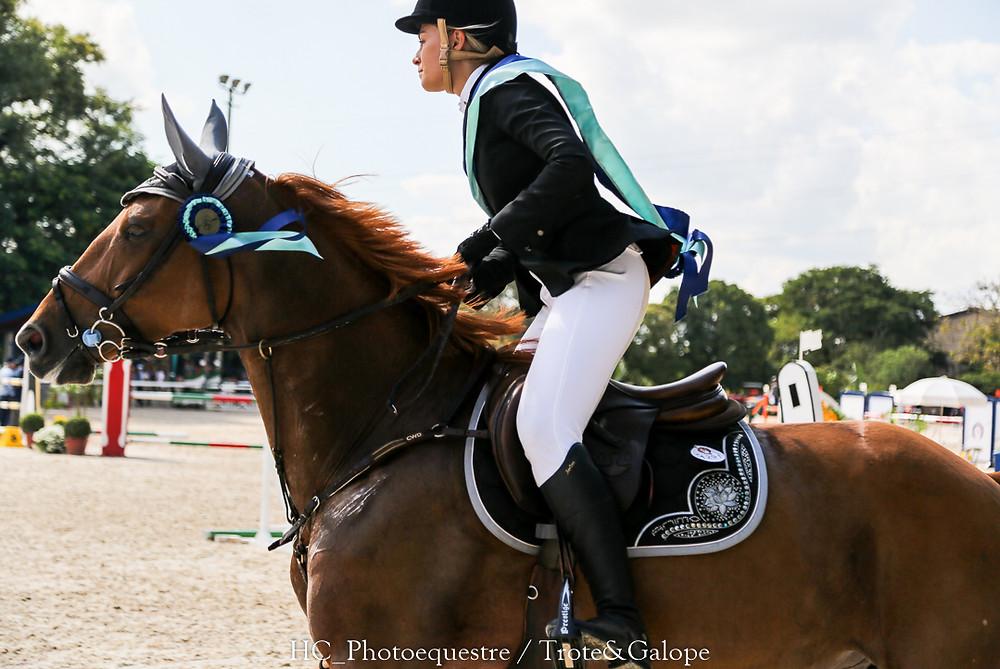 Maria Carolina Auricchio Braido levou Coriara Canabrava ao vice-campeonato