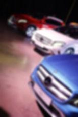 Detalhes frontais do GLA Mercedes-Benz no site Trote&Galope