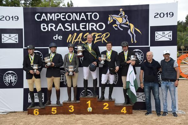 Os campeões Master Top 2019 (Duílio Andrade)