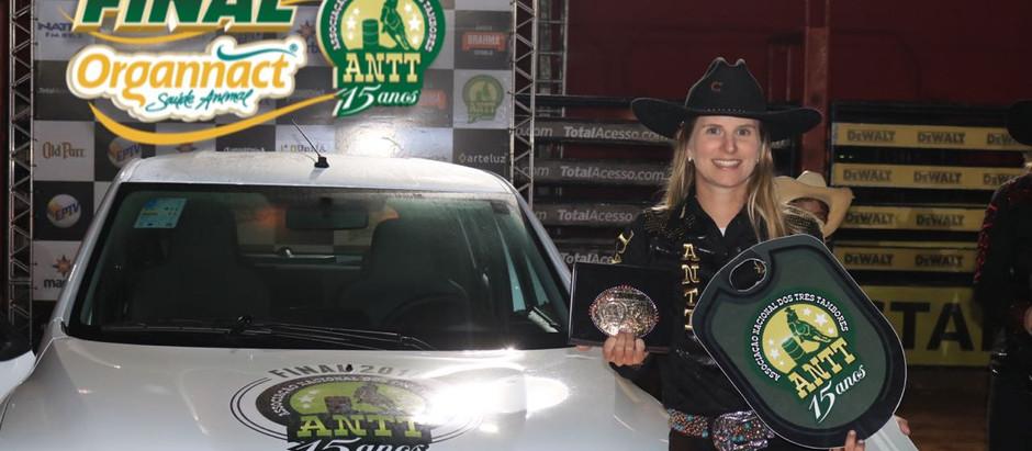 ANTT consagrou as campeãs da temporada na arena do JAGUARIÚNA RODEO FESTIVAL