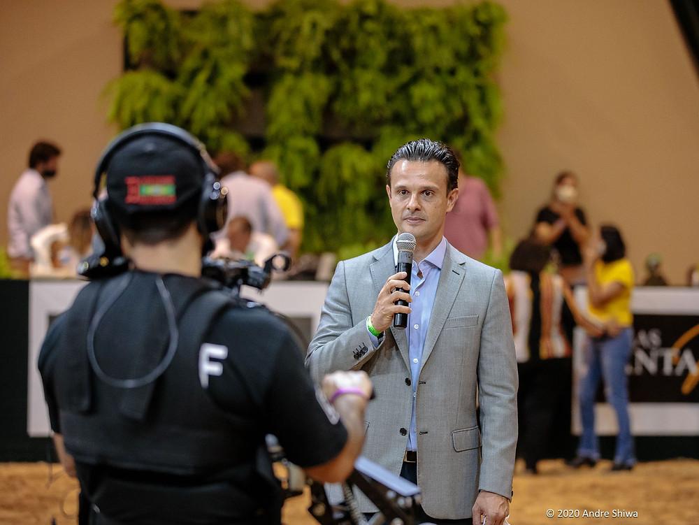 Rodrigo Forte, presidente da ABCCA (foto André Shiwa)