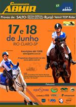 Salto, Hipismo Rural e Top Riders acontecem em Rio Claro. É neste fim de semana.