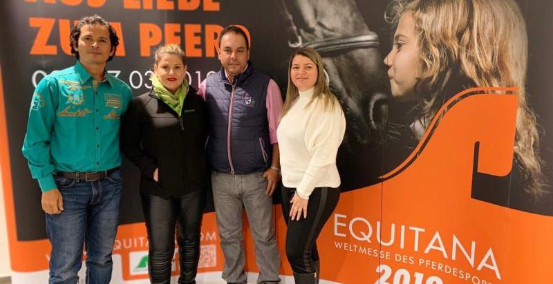 União de profissionais visa aumentar a participação brasileira na Equitana 2021