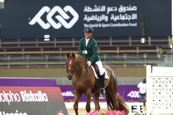 Rodolpho Riskalla com Don Henrico: vitória na largada em Doha (In2strides)