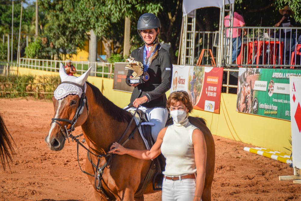 Flávia Mello ficou com o primeiro lugar na Copa FHBr.
