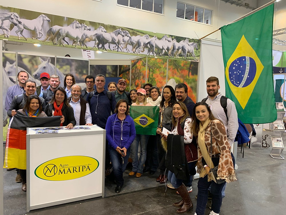 Agromaripá, mais uma vez, marca presença com estande e aproveita o evento para iniciar as comemorações de seus 40 anos de criação do Mangalarga Marchador.