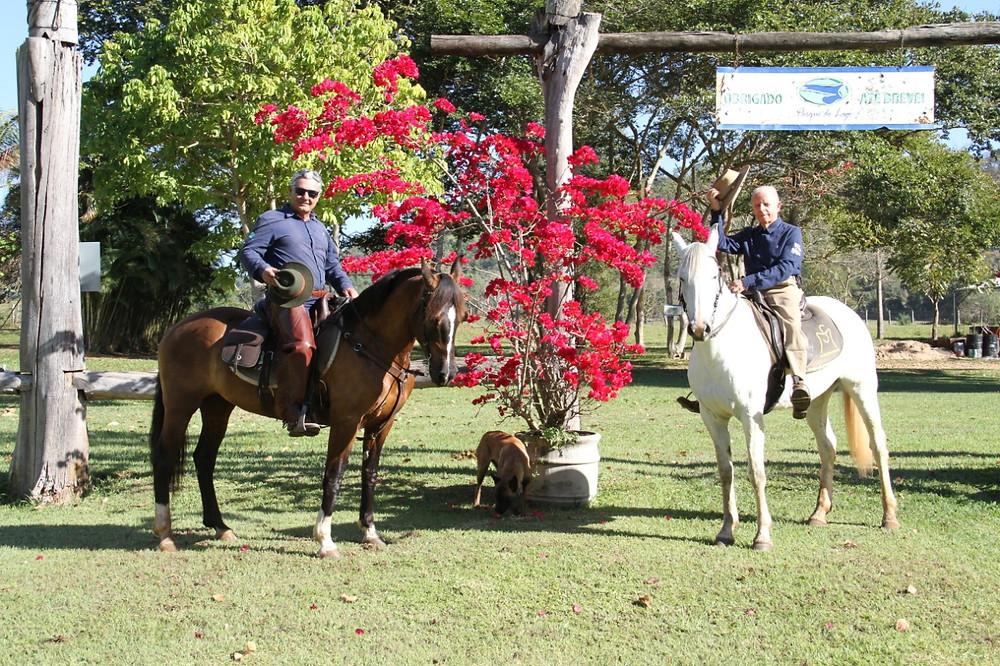 Sebastião Malheiro e Pedroca Aguiar estão à frente da expedição