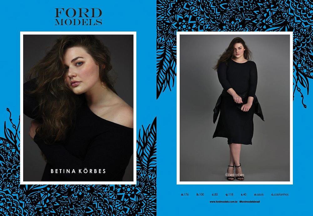 Betina Korbes - Ford Models  (Divulgação)
