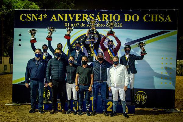 Comemoração no pódio do GP (Luis Ruas)