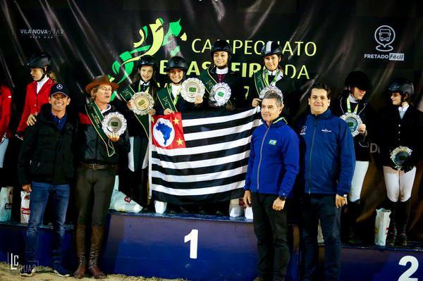 Equipes Pré-mirim, SP, ouro, Ceará, prata, RJ, bronze (Luis Ruas)