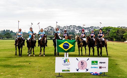 Buenos Aires e Inglaterra no Torneio de Polo Feminino do Helvétia