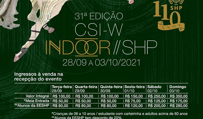 Está chegando o maior concurso indoor de Hipismo da América do Sul
