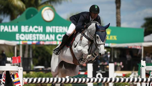 Eduardo e H5-Quintol em flash de arquivo no Winter Equestrian Festival (Sportfot)
