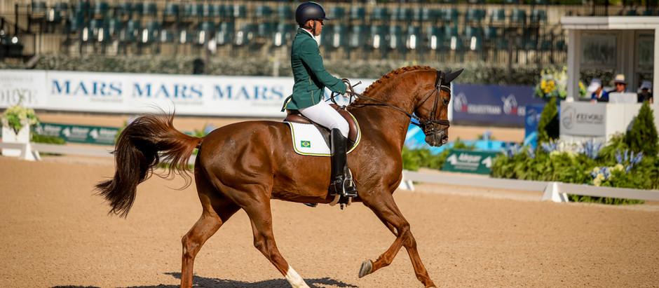 Rodolpho Riskalla conquista segunda prata nos Jogos Equestres Mundiais
