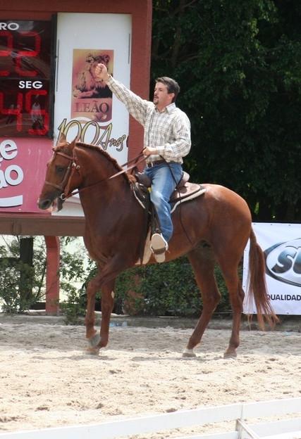 """Marcos Benedito Bueno: conhecedor do mercado de cavalos, é o idealizador do """"Dia de Campo da Hípica Bonanza Porto Atibaia"""" (foto Divulgação)"""