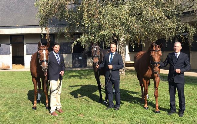 Tops do CCE participam do Mundial de Cavalos Novos na França