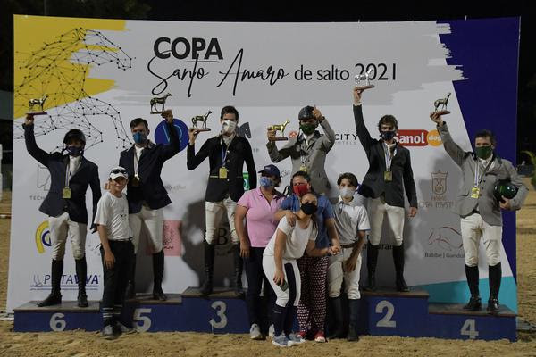 Feras no pódio do mini GP da 1ª Copa Santo Amaro (Duilio Andrade)