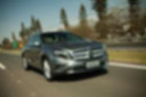 Mercedes-Benz GLA na estrada