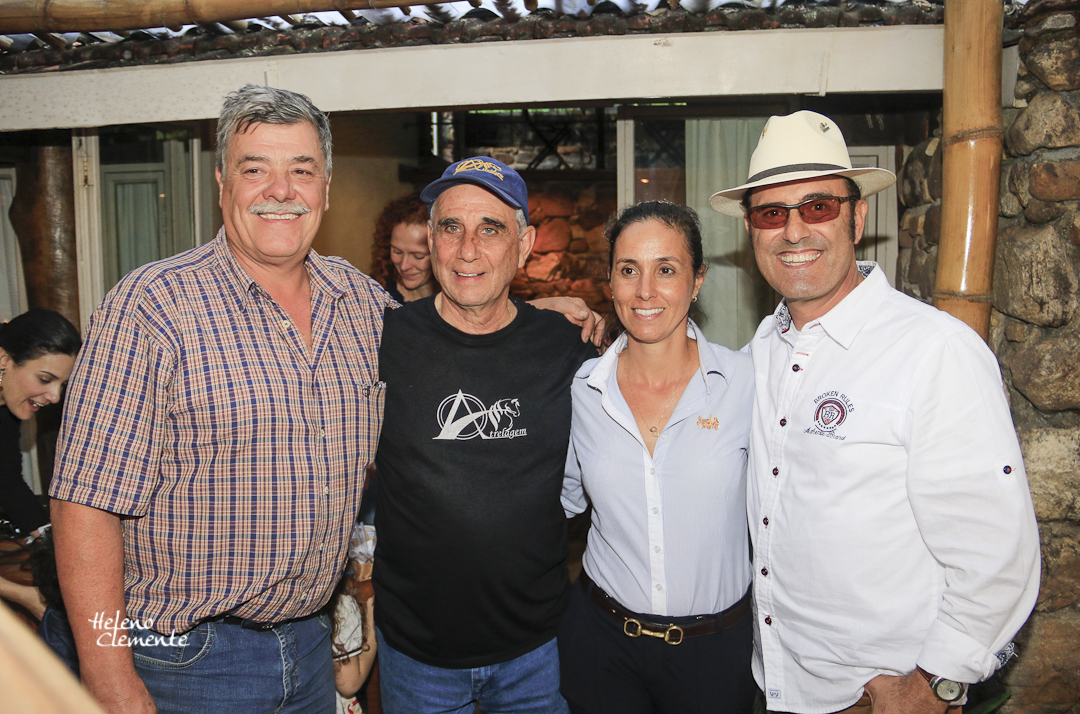 Bertolo, Flávio, Carol e Tomaselli