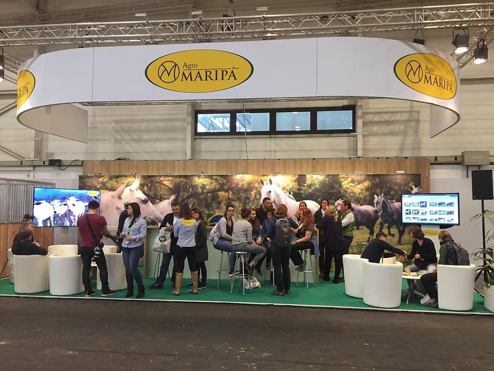 Pela quarta edição consecutiva, a Agro Maripá estará presente na maior feira equestre mundial - Equitana, divulgando seu criatório de cavalos Mangalarga Marchador para o mundo. Equitana acontece de 9 a 17 de março, em Essen, na Alemanha.