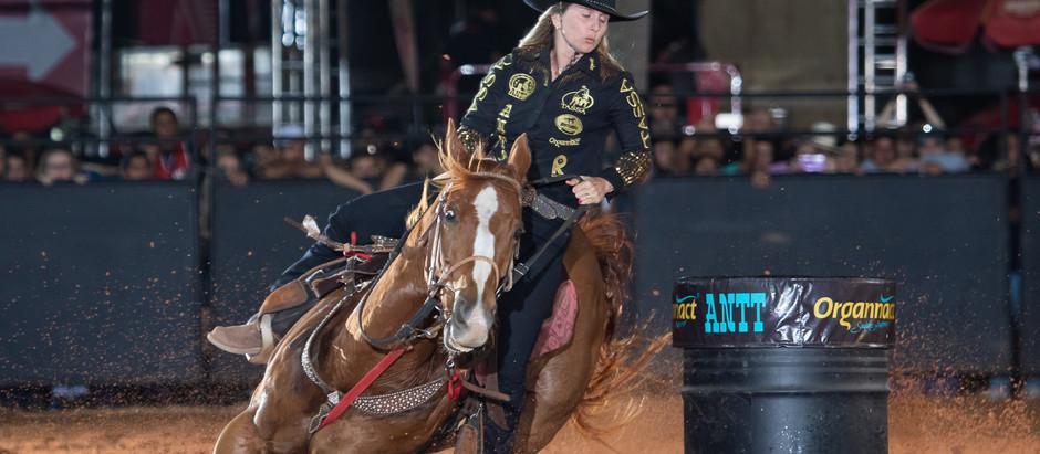 Final da ANTT no Jaguariúna Rodeo Festival definiu as campeãs da temporada