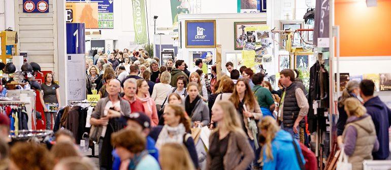 Público estimado em mais de 200 mil visitantes a cada edição (foto Equitana)