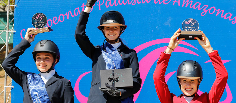 Desempate 1,10M - 1,15m: Sofia Lanzoni e Topthorn Chin Chin vencem no cronômetro