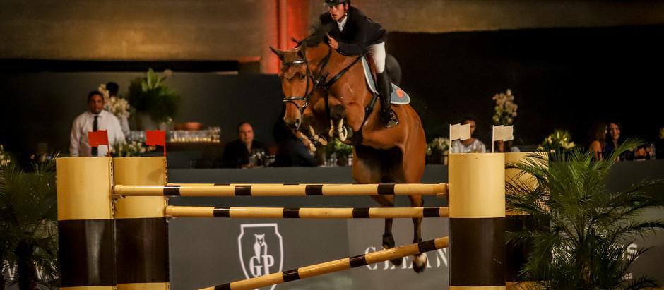 Cavaleiro olímpico Pedro Veniss estreia no Indoor 2018 com filha de Baloubet