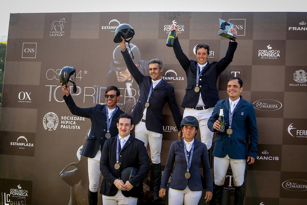 Os vencedores do GP Top Riders (Luis Ruas)