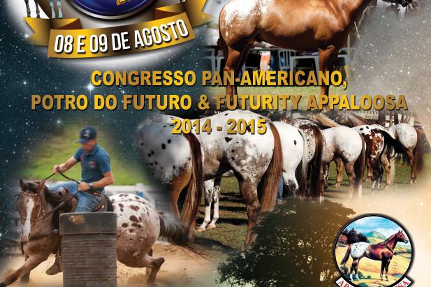 Congresso Pan-Americano, Potro do Futuro e Futurity Appaloosa. Tudo em agosto!