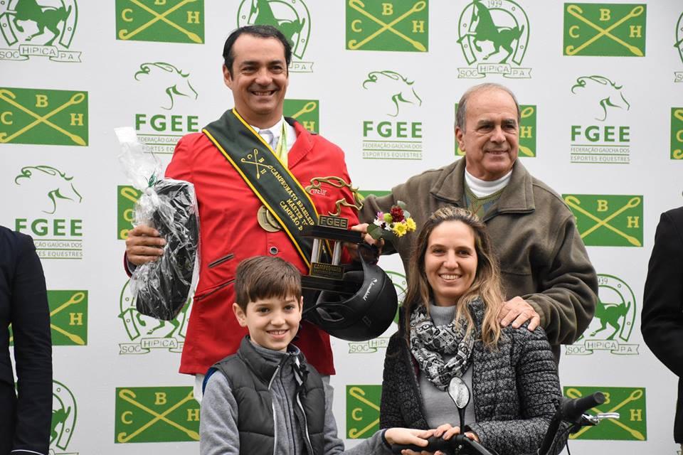 Denis Gouveia: campeão brasileiro Master Top 2018 (Divulgação)