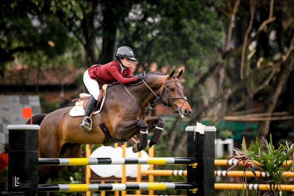 Mariana Frauches vem com dois cavalos na liderança do Amazonas Top (foto Luis Ruas)