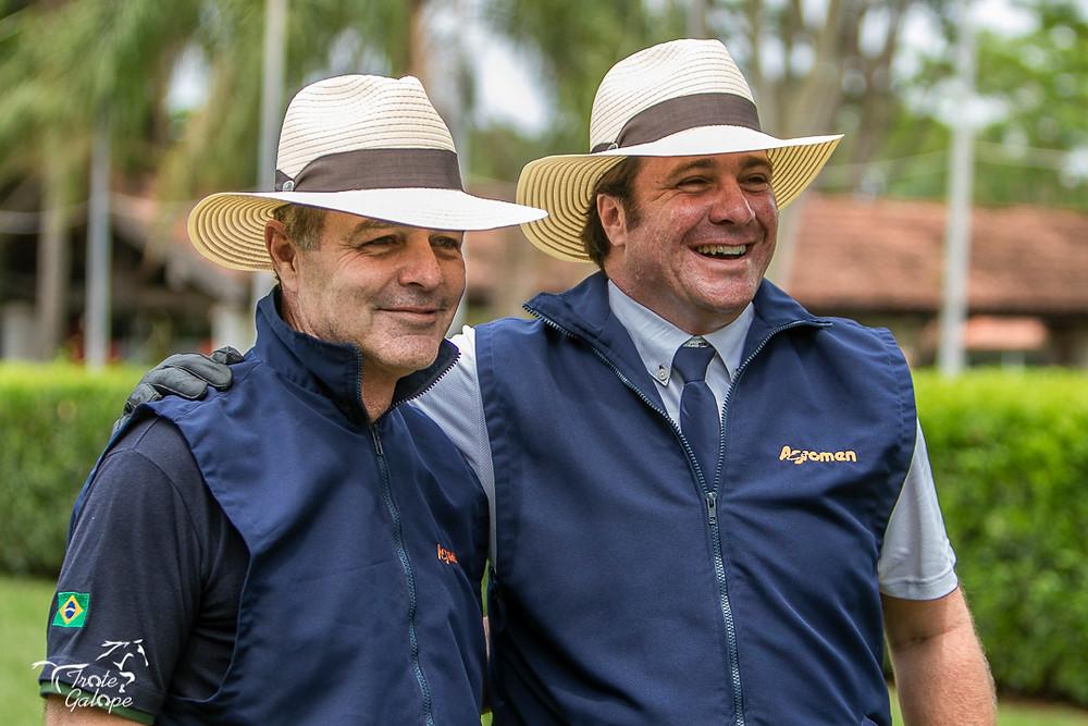 Pedro Paulo Lacerda,  chefe de equipe do Time Brasil de Salto ouro no Pan de Lima 2019, também topou a experiência