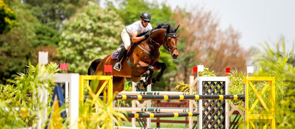 Brasileiro de Cavalos Novos no Haras Agromen: boa participação e nível técnico