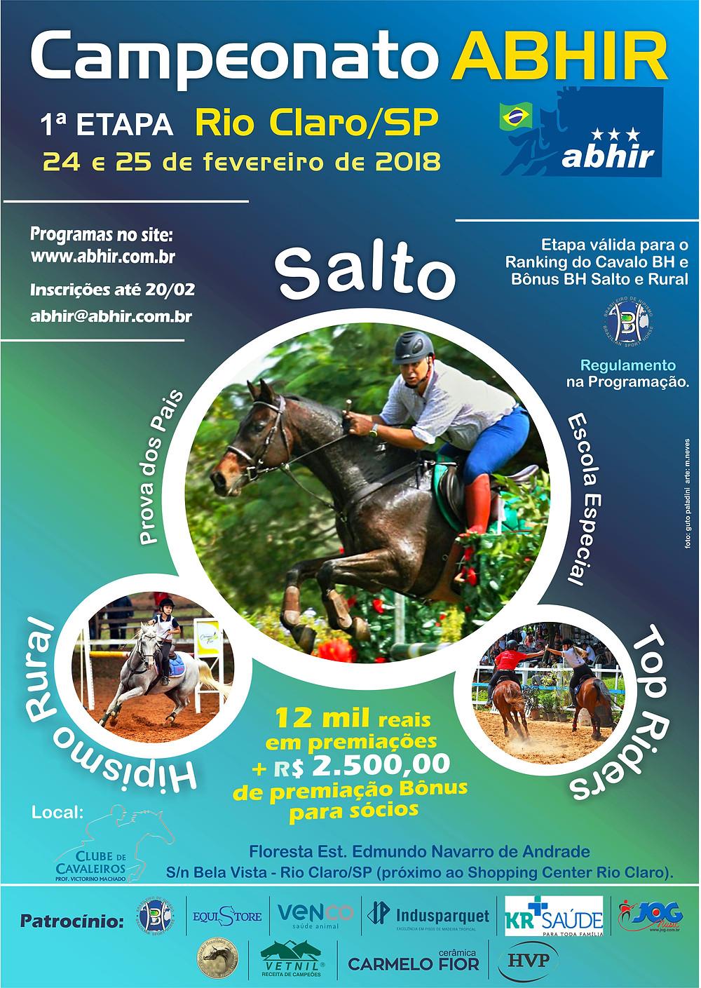 ABHIR – Associação Brasileira dos Cavaleiros Hipismo Rural