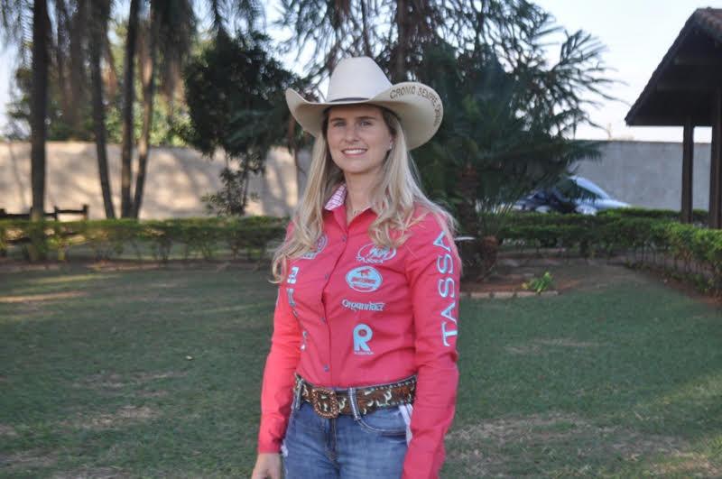 Ana Carolina Cardozo - líder da Feminina Gold Race Foto: Arquivo Pessoal