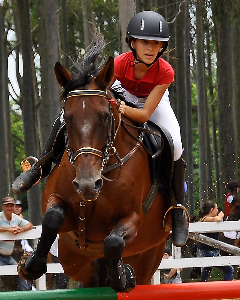 Julia Schwarz, atleta de Jaú de Salto e Rural