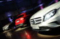 grades frontais do GLA Mercedes-Benz