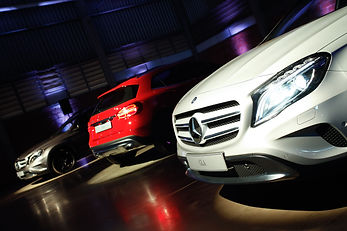 grades frontais do GLA Mercedes-Benz